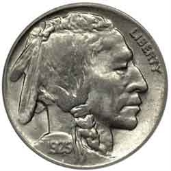 1925-P Buffalo Head Nickel Coins