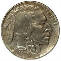1927-D Buffalo Head Nickel Coins