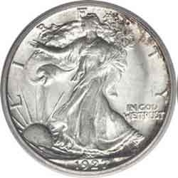 1927-S Walking Liberty Half Dollar