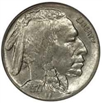 1927-P Buffalo Head Nickel Coins
