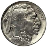 1928-P Buffalo Head Nickel Coins