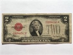 1928 $2 Red Seal Notes