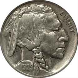 1929-D Buffalo Head Nickel Coins