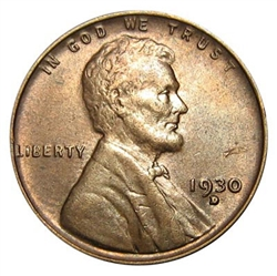 1930-D Wheat Penny