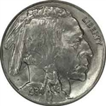 1934-P Buffalo Head Nickel Coins