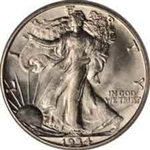 1934-P Walking Liberty Half Dollar