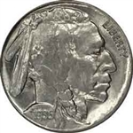 1935-S Buffalo Head Nickel Coins