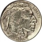 1937-D Buffalo Head Nickel Coins