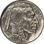 1938-D Buffalo Head Nickel Coins