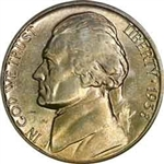 1938-D Jefferson Nickel