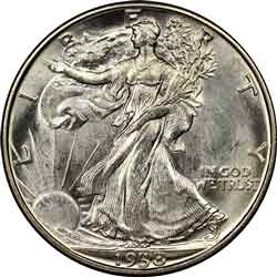 1938-P Walking Liberty Half Dollar