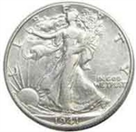 1941-P Walking Liberty Half Dollar