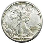 1943-P Walking Liberty Half Dollar
