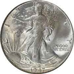 1947-P Walking Liberty Half Dollar