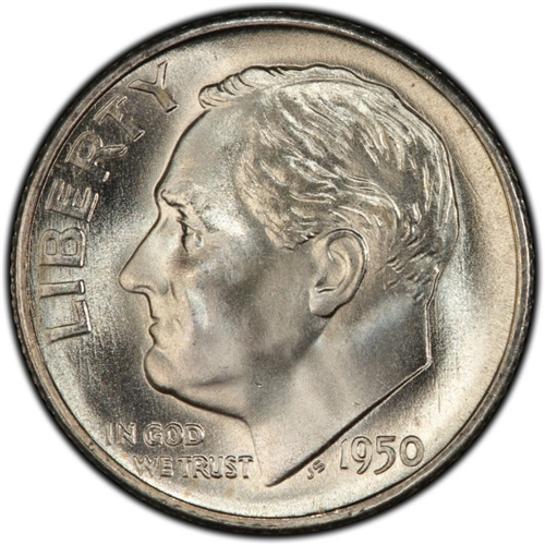 1986 P Roosevelt Dime BU US Coin