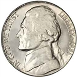 1951-P Jefferson Nickel