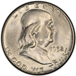 1952-S Franklin Half Dollar