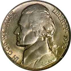 1952-S Jefferson Nickel