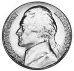 1953 Jefferson Nickel