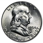 1954-S Franklin Half Dollar