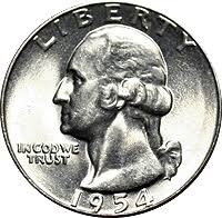 1954-D Washington Quarter