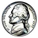 1955 Jefferson Nickel
