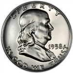 1958-P Franklin Half Dollar