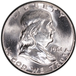 1961-P Franklin Half Dollar