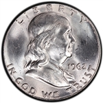 1962-P Franklin Half Dollar