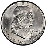 1963-P Franklin Half Dollar