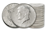 1964 Circulated Kennedy Half Dollar Roll