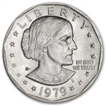 1979-S Susan B Anthony Dollar Coin