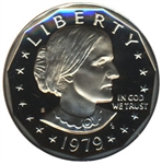 1979-S Proof Susan B Anthony Dollar Coin