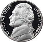 1980 Proof Jefferson Nickel