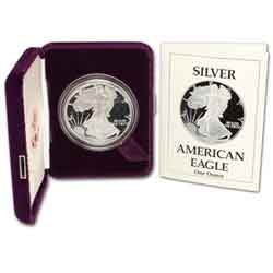 1989 Proof American Silver Eagle