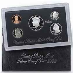 1993 Silver Proof Set