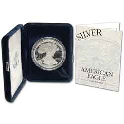 1995 Proof American SIlver Eagle