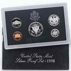 1998 Silver Proof Set