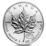 1999/2000 Canadian One Ounce Millennium Silver Maple Leaf