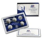 2000 State Quarter Proof Set