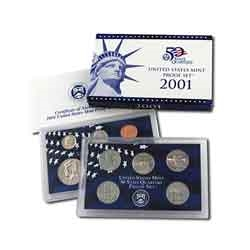 2001 Proof Set