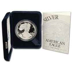 2001 Proof American Silver Eagle