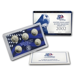 2002 State Quarter Proof Set