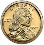 2002-S Proof Sacagawea American Dollar