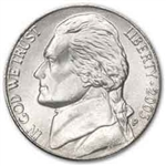 2003-P Jefferson Nickel