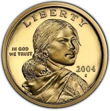 2004-S Proof Sacagawea Dollar