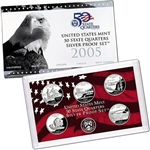 2005 State Quarter Silver Proof Set