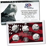 2006 State Quarter Silver Proof Set