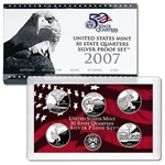 2007 State Quarter Silver Proof Set