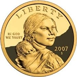 2007 Proof Sacagawea Dollar